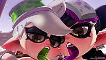 Squid Sisters Blowjob