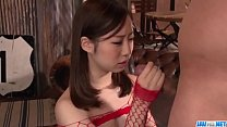 Obedient Momoka Sakai fucked and made to swallow - More at 69avs com