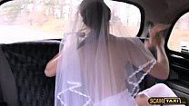 Horny Chick Gina Fucks Drivers Massive Cock And Gets Creampie