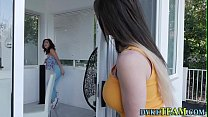 Teen domina scissoring