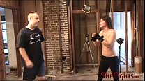 Facebusting Wit h Cindy And Army Guy   Golden  y Guy   Golden Bikini And Dangerous Fists