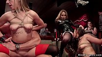 Subs compiting in service orgy olympics thumbnail