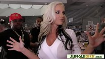 Alena Croft In Her First Time Interracial Gangbang