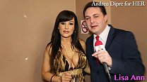 Lisa Ann: porn meeting with Andrea Diprè!