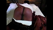 Big Black Ass Getting Spank