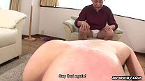 submissive blowjob - Cheating Asian wife banged in a wet session thumbnail