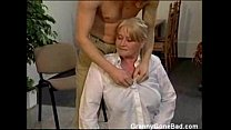 Granny with Big Soft Tits get Fingered and Fucked video