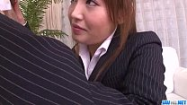 Mami Asakura office adventure with her boss - download porn videos