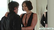 Huge titted MILF Yasmin Scott gets drilled by h...