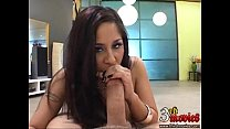 Latina Babe Jenaveve Jolie Sucking A Hard Meat Cock