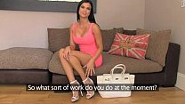 FakeAgentUK Tanned athletic goddess with beautiful tits gets creampied tumblr xxx video