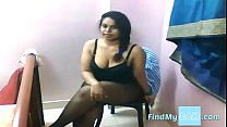 Busty Indian Lily expose her Boobs , Sexy Ass on CAM Image