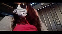 Nicoletta takes r. on her neighbor and pisses in his garage (Special Covid19 Italian quarantine)