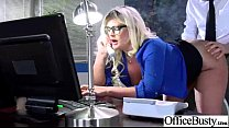 Big Tits Lovely Girl Get Hardcore Sex In Office video-15