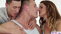 Naughty threeway sex with bi guys - Nicole Vice, Jace Reed and Luke Ward