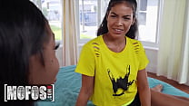 (Tori Montana) Squirts After Enjoying Hot Lesbian Sex With Her Stepsister (