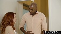 BLACKED Red Head Model Amarna Miller Interracial Creampie preview image