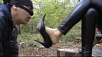 16254 smelling high heels with full intensity preview