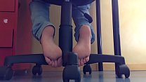 Download video bokep Cams4free.net - Candid Student Footplay When St... 3gp terbaru