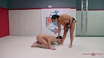 Novice wrestler Marcello tries his luck against...