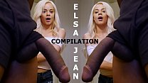 BANGBROS - Teen Elsa Jean Compilation: Petite Girl Stuffed With Big Cocks!