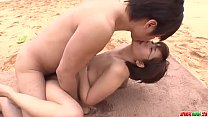 Outdoor passion and sex along superb Saya Tachibana - More at Japanesemamas com