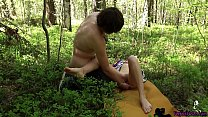 Stranger Masturbate my Pussy, and I Suck His Dick and Passionate Sex Outdoor