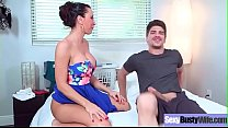 Sex Tape With Busty Naughty Housewife (Lezley Zen) clip-16
