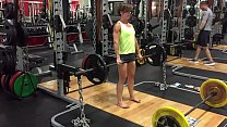 Barefoot Workout Gym Sexy Milf Part 1- www.pret...