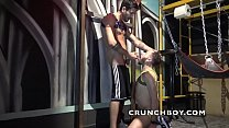 Marco RUSH fucked bareback by Alexis CLARK for Crunchboy in the Firewood Cruising bar in madrid