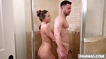Stepsister massage - Abigail Mac's Thumb