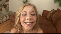 Teen Blonde Bukkake