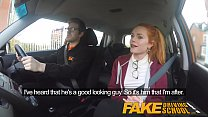 Fake Driving School Cute redhead Ella Hughes fucks and eats instructors cum - 9Club.Top