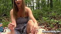 Streaming Video Kelly gives an outdoor handjob - 720p