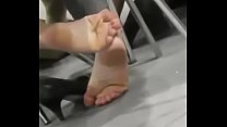 Cams4free.net - Candid Shoeplay sexy candid soles pornhub video