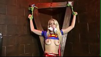 Supergirl Captured, Spanked And Humiliated : Part 2 Allie Rae