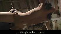 Enslaved teenie ruthlessly humiliated and used thumbnail