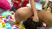 kushboo xxx videos: Sorority Girls Get Down to Busniess on College Rules (cr7315) thumbnail
