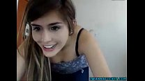 Cute colombian masturbating in camchat