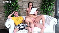 Two horny newcomers fail with pornstar Wendy Moon