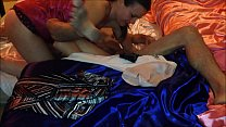 Sexy O2, T&A 134 - Pounded White Milf in Satin Lingerie (Nightie, Panti