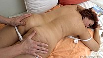 Granny got fucked after massage - Red Mary porn thumbnail