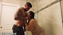 ADULT TIME BBW Karla Lane Steamy Shower Sex With Lover Preview