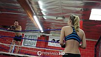 HD FantasyHD - Natalia Starr wrestles her way i...