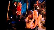 Outdoor night orgy with the Venere Bianca Thumbnail