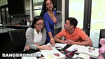BANGBROS - Step Mom MILF Ava Addams Threesome W... Thumbnail