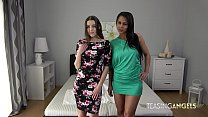 Isabella and Sybil tempt you with their blowjob skills thumbnail