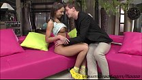 Lovely pretty girl Foxy goes hardcore anal sex with her boyfriend thumbnail