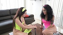 HELENA DANAE IN AN EXCITING LESBIAN WITH HER FRIEND