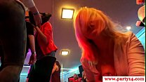 Real amateurs pussyfucked at wild party